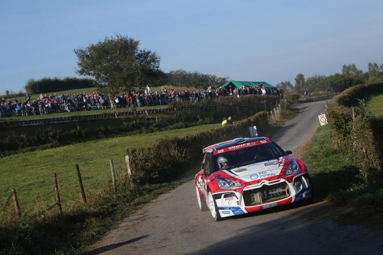 Bob de Jong en Bjorn Degandt naar vijfde plaats in East Belgian Rally