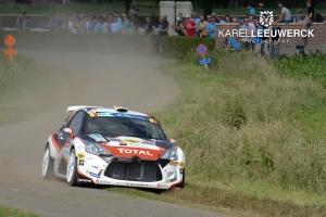 Top-10 voor het Citroën Belux Junior Team in Ieper