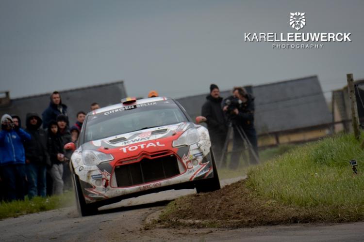 Het Citroën Belux Junior Team tegen de Europese top in Ieper