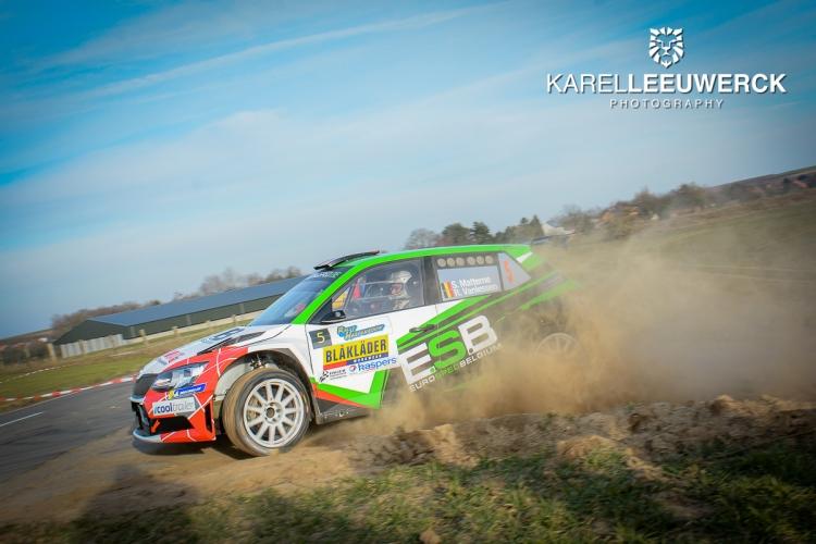 R5 en Porsche festival in de TAC Rally