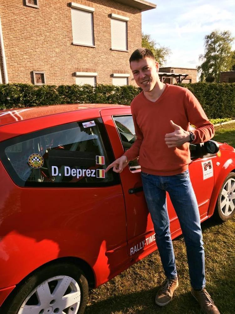 Dries Deprez debuteert tijdens Monteberg Short Rally