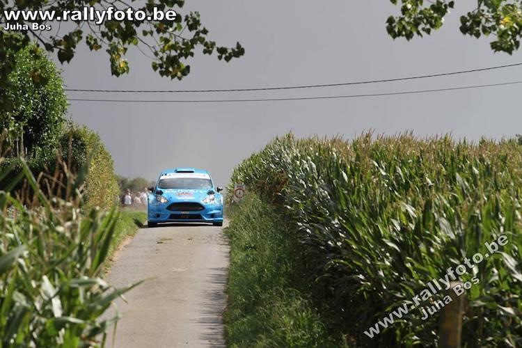 Konvert Fiesta op podium van Omloop van Vlaanderen