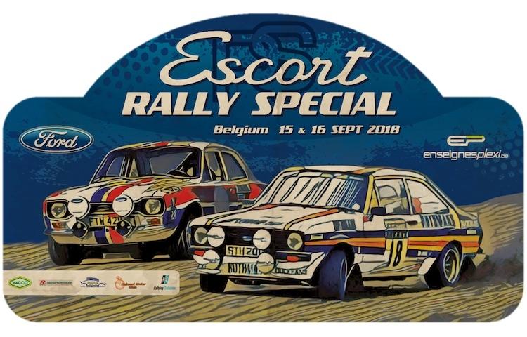 Christophe Jacob viert de 50ste verjaardag van de Ford Escort