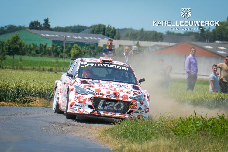 Thierry Neuville gedroomde winnaar van 54ste Renties Ypres Rally
