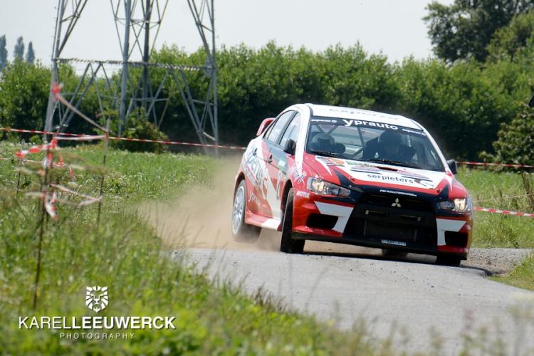 Andy Lefevere van start tot finish in spannende Rally van Staden
