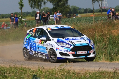 Adrian Fernémont wint de categorie R2 in de East Belgian Rally