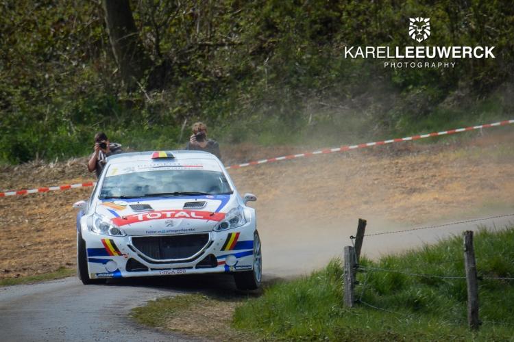 Volle buit voor de Peugeots 208 van DG Sport Compétition in Namen