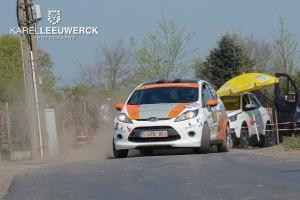 Bevredigend resultaat voor debutant Johan Depredommme in TAC Rally