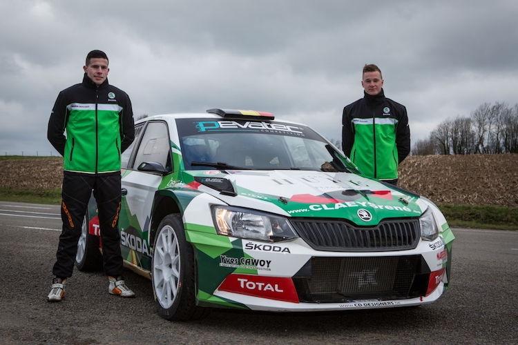 Sébastien Bedoret klaar voor de TAC Rally