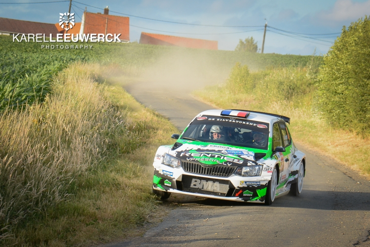 Renties Ypres Rally: Compact en spectaculair parcours!