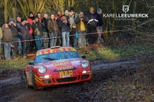 TAC Rally: Zes Porsches en een dozijn BMW's