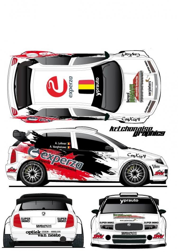 Twee wedstrijden voor Andy Lefevere met Skoda Fabia WRC