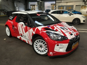 J-Motorsport met nieuwe DS3 WRC in de Rallye Lëtzebuerg