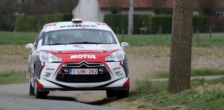 Anthony Dovifat als Junior-BRC leider naar Rallye de Wallonie