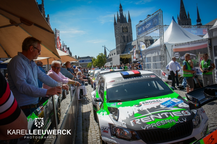 Champion wordt partner van de Renties Ypres Rally