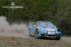 Drie ronkende GT's voor extra spektakel in Ypres Rally