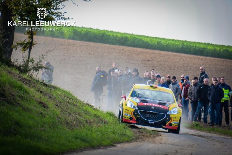 Negen wedstrijden voor Guillaume de Mévius met een Peugeot 208 T16
