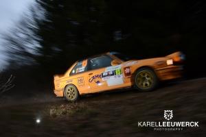 Rallye de Wallonië: Uithouding wordt essentieel in Historic