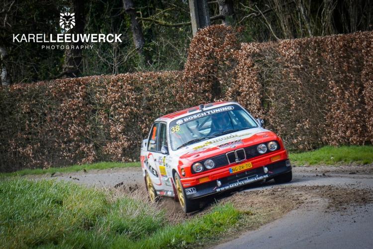Last minute deelname in Ypres Historic Rally voor Mats van den Brand