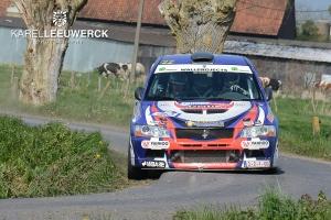 Tuur Vanden Abbeele blikt terug op de TAC Rally