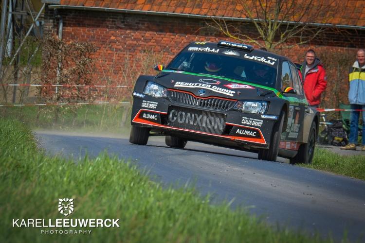 Geen evolutiemotor voor Vincent Verschueren in Rallye de Wallonie