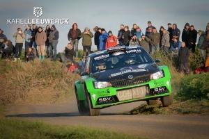 Condroz Rally: Vincent Verschueren op het podium
