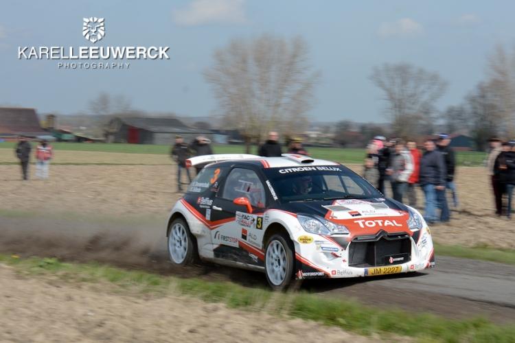 J-Motorsport met drie DS 3 R5's present in Ieper