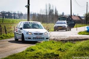 Christophe Panis sluit het seizoen af in de Hemicuda Rally