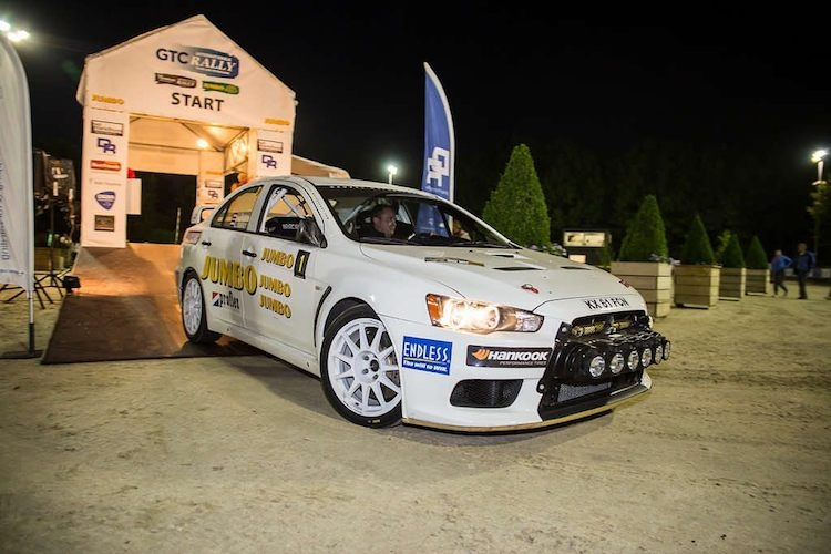 GTC Rally: Jasper Van den Heuvel als leider na de Nacht