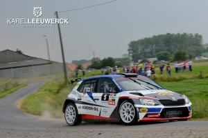 Hermen Kobus en Davy Thierie ambitieus in de Barum Rally