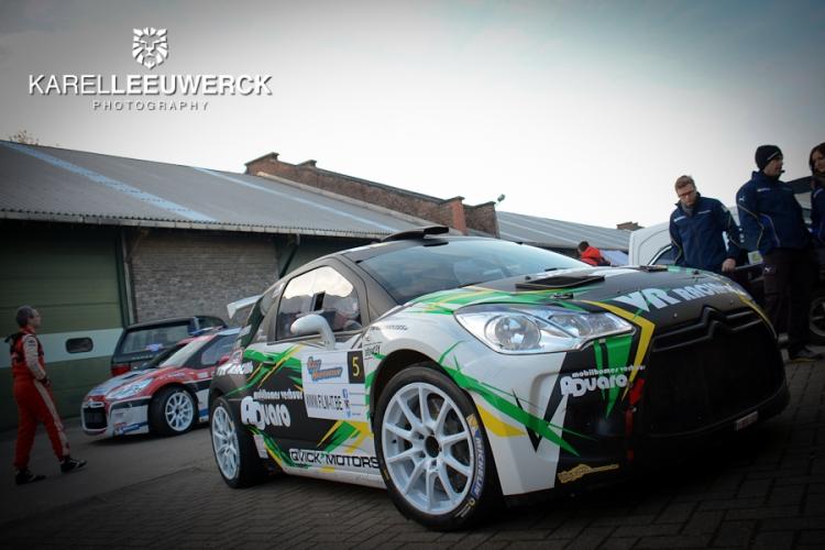 Genummerde deelnemerslijst Rally van Haspengouw bekend
