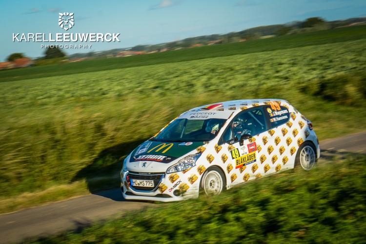 Joachim Wagemans doet gouden zaken in Renties Ypres Rally