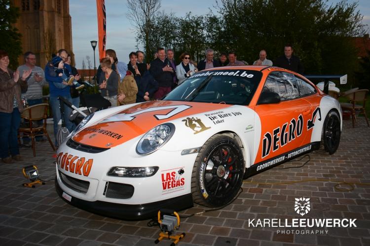Porsche 997 GT3 van het Degro Rallyteam voorgesteld
