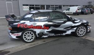 Steve Brown en Wouter Muylle starten hun seizoen in Rallysprint van Moorslede