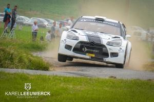 Frédéric Miclotte met Citroën DS3... WRC in Aarova Rallysprint