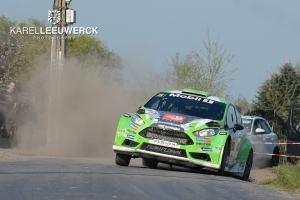Polle Geusens wil kilometers maken met de Fiesta R5 in Namen