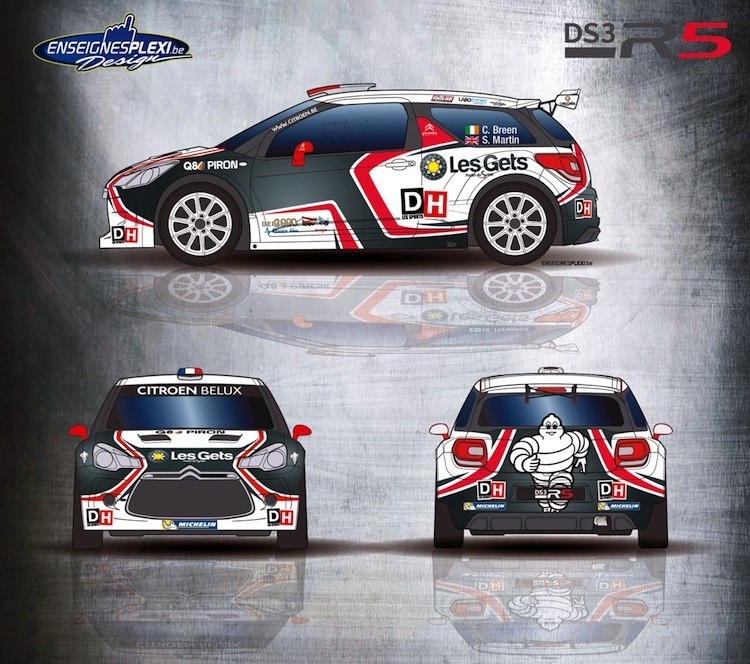 Craig Breen vervangt Mikko Hirvonen in de Condroz Rally