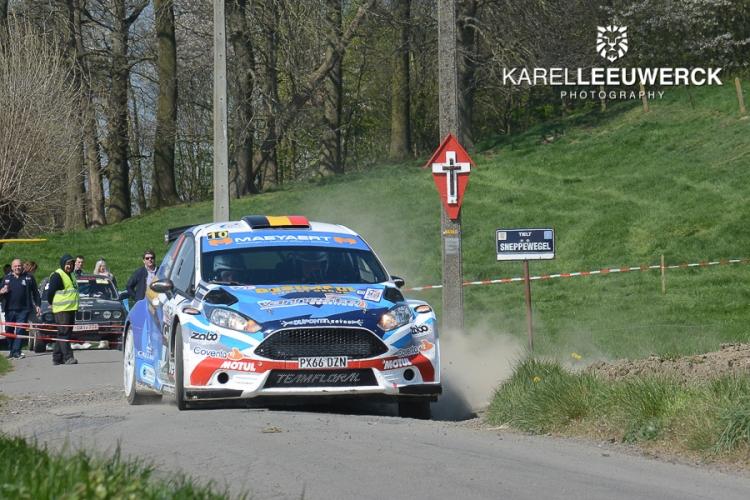 Pieter-Jan Maeyaert heeft zich getoond in de TAC Rally