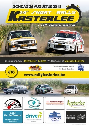 14de Short Rally van Kasterlee gaat 'back to the roots'
