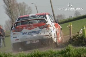 Bert Coene gaat voor groep N winst in 45ste TAC Rally
