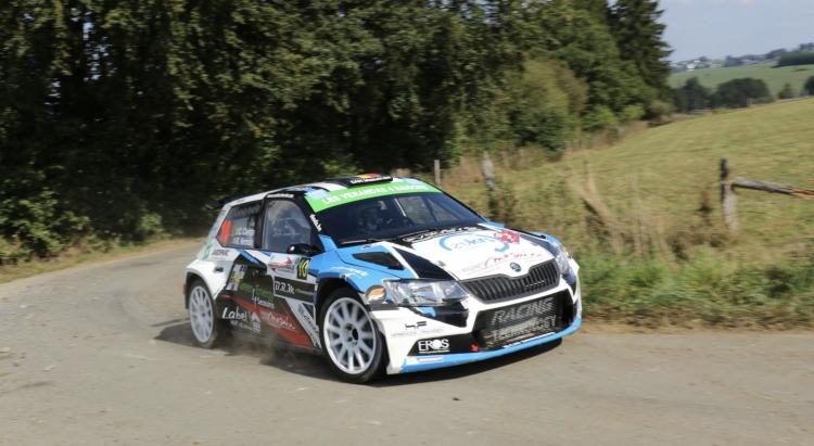 Cédric Cherain wint de East Belgian Rally