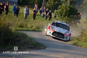 Bryan Bouffier leider na dag 1 in Kenotek Ypres Rally