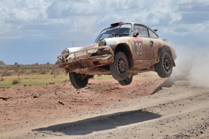 BMA scoort in loodzware East African Safari Rally