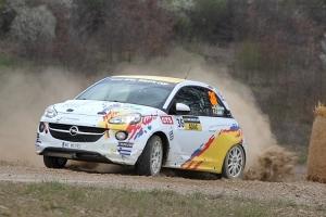 Mooi debuut voor Grégoire Munster in de ADAC Opel Rallye Cup