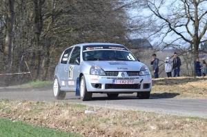 Clio 2 Rally Challenge trekt naar Rally de la Famenne