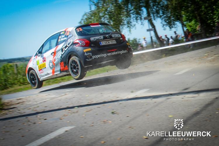 Ypres Rally: Gilles Pyck domineert, maar Grégoire Munster wint