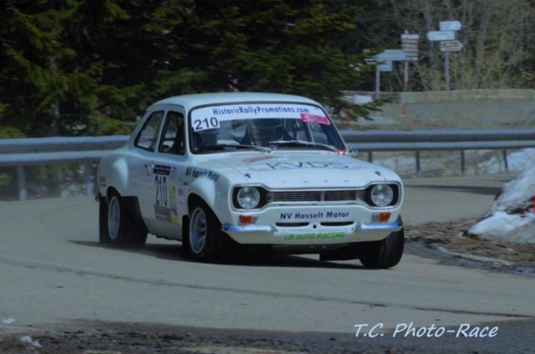 Kurt Vanderspinnen en Steven De Bock blikken terug op Rally de L'Escarène