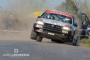 Paul Lietaer dan toch met de Subaru Legacy naar Landen