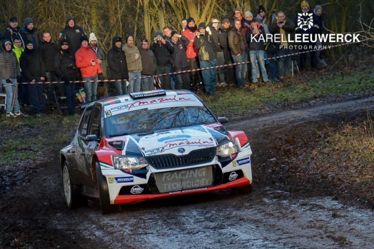 Benoit Allart zeker van zijn deelname aan de Herock Spa Rally