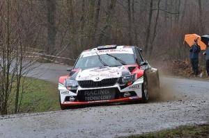 Benoît Allart... winnaar van de Spa Rally